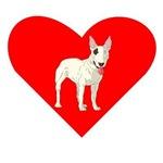 Bull Terrier Heart