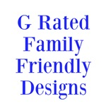 G Rated - Family Friendly on t-shirts, bags, purse