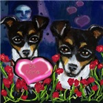 RAT TERRIER Valentines