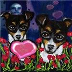 RAT TERRIER Valentines
