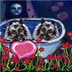 KEESHOND Valentine