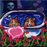 SHETLAND SHEEPDOG Sheltie Valentine