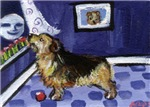 NORFOLK TERRIER ART!