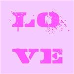 Love Paint Splatter