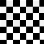 Checkered Black and White