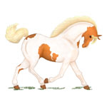 Trotting Horse or Pony (Various Colors)