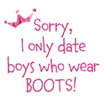 Date Boys that wear boots!