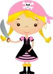 Pirate Girl w/ Sword