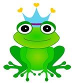 Blue Crown Frog Prince