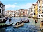 Venetian Traffic Jam, Photo / Digital Painting