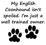 Well Trained English Coonhound Owner