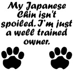 Well Trained Japanese Chin Owner