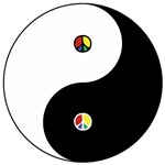 Peace Sign Dao ~ Peace in the balance and harmony of opposites.