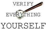 Verify Everything Yourself