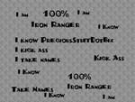 100% Iron Ranger
