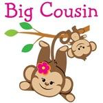 Monkeys Girl Big Cousin