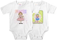 Girlie Girl Infant Bodysuits
