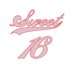 Sweet 16 Tshirts and Gift Items