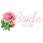 Rose Bride to Be  Tshirts and Gifts