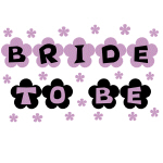 Flowers Bride to Be Tshirts and Gifts