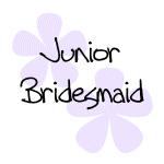 Pastel Flowers Junior Bridesmaid