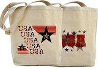 Patriotic USA Tote Bags!