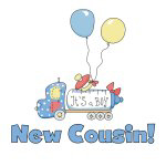 New Cousin It's a Boy T-shirts and Gifts