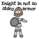 Knights and Princes Stick Figure T-shirts and Gift