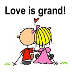 Love is Grand T-shirts and Gifts