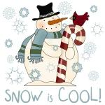 Snow is Cool Snowman Tshirts and Gifts