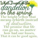 Dandelion Mockingjay