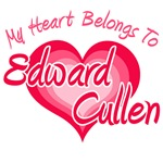 My Heart Belongs To Edward Cullen T-Shirts