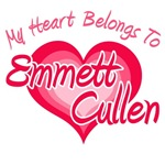 My Heart Belongs To Emmett Cullen T-Shirts