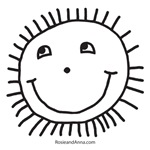 Rosie's Smiley Sun