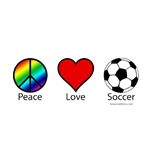 Peace Love and Soccer