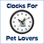 Clocks For Pet Lovers