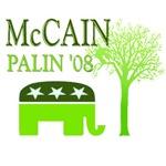 McCain Palin Green