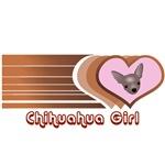 Chihuahua Girl T-Shirts