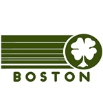 Boston Vintage 4 Leaf Clover T-Shirts