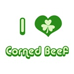 I Love Corned Beef T-Shirts