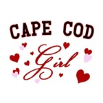 Cape Cod Girl T-Shirts