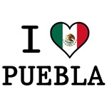 I Love Puebla T-Shirts