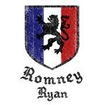 Romney Ryan Vintage Crest