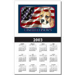 Awesome American Staffordshire Terrier Calendars