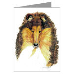 Creative Collie Post Cards or Note Cards
