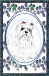 Maltese Dog Designer Style # 1