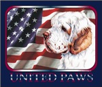 Clumber Spaniel United Paws USA Flag Gift Products