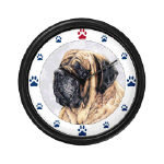 Cool Mastiff Clocks and Mousepads