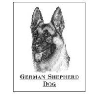 German Shepherd Dog Framed Prints and Posters