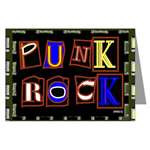 Punk Rock Design Note Cards & Post Cards